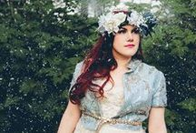 winter wedding >//< / winter wedding idea's theme style decor look