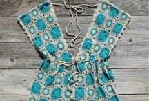 Ropa , ponchos y chal / Crochet  / by Creative and Craft