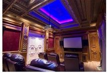 Theatre room design / One of my previous occupations