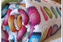Mantas crochet / Hechas a crochet