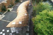 LA_Shade_Structure / Shelter 构筑物,廊架