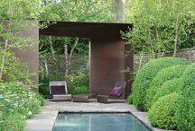 Landscape and garden design / Contemporary landscape and garden design