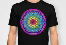 sacred geometry and symbology / A collection of artwork featuring various symbols from sacred geometry.
