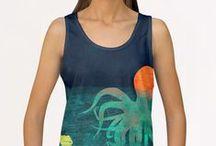 T-Shirts, Tanks & Hoodies / Original clothing by artists worldwide.