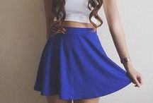 Skirt Outfits / Step 1. Invite 3 Friends - Step 2. Post Your Favourite Skirt Outfits - Step 3. Enjoy The Beautiful Posts! <3