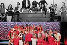 "GLEEFUL / ""being a part of something special makes you special, right?"""