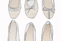 Drawing-garments and shoes