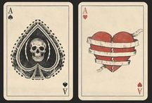 deck of cards / decorative, divinative, cards