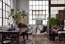 loft and space industrial style