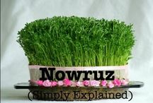 Iranian new year ( NOWRUZ )     First day of spring is our new year and  (  HAFT  SIN  ) is symbolizing (  NOWRUZ ) / by Fati R