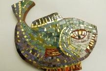 Hashimoto's portfolio / Artistic mosaics' portfolio by Elena e Tomohiro Hashimoto / by HASHIMOTO mosaic art