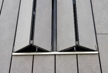 Facade details / Panelized facade details. Executed with EQUITONE facade panels.