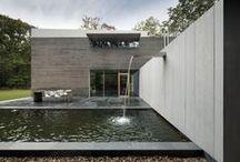 Modern houses / Contemporary villas with EQUITONE facade claddng