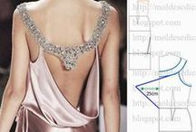 ✂--  Patterns  Of  Women's  Clothing  ✂-- / How to learn to sew itself and build a pattern