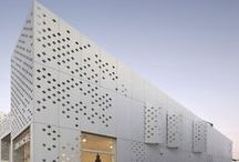 Facade perforations
