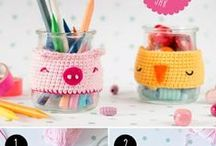 Crochet Ideas &Decorations-4 / Techniques and Basic Points