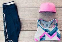 running style / running wear style