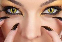 Exploring Eyes / & Weird contact lenses!