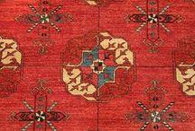 Turkmen carpets / Türkmén szőnyegek / Türkmén szőnyegek