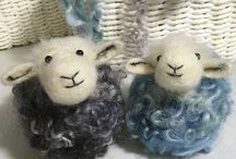 Needle Felting Workshops With Lincolnshire Fenn Crafts / 3D Needle Felting Workshops