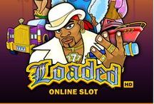 Loaded Video Slot / Hip Hop-themed video slot, Loaded, bring the bling bling to the casino. Loaded has wild, scatter, free spin, and gamble opportunities that can take you to a jackpot!
