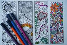 Colouring / Puzzles, colouring, word searches