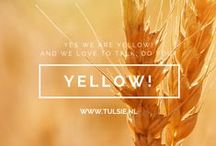 Yellow! / Yes, we are yellow and we love to talk. Do you?