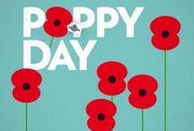 Remembrance, Poppy Day / November 11th, Poppy Day
