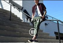 STEP UP / Elevate your style with new cuts and shapes.