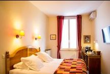 """Présentation de l'hôtel / En plein coeur de Toulouse, de style Louis XVI et Directoire alliant à la fois confort et tradition, l'hôtel Albert 1er a été classé """"hôtel de charme et de caractère"""" en 2000."""