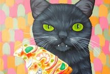 Cats in Art / by Deb Whippen