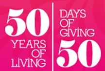 50 Days of Giving