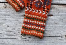 knits, felt, needlepoint / no Lisa, I can't knit....yet