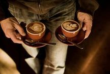 two flat whites please / When coffee dreams, it dreams of chocolate