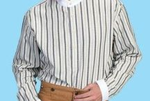 Men's Old West Clothing & Sports Jackets / Traditional Western Attire / by AA Callisters