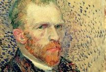 """Van Gogh"" (1853 - 1890) / Vincent Willem Van Gogh, 30 de março de 1853, Zundert, Países baixos - 29 de julho de 1890, Auvers-sur-Oise, França. Período: Pós-Impressionismo / by Marisete Fachini Girardello"