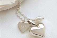Gifts from the Heart... / Classic and beautiful jewellery, that can be personalised.