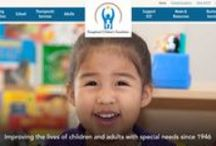 Website / Check out ECF's website to learn more about our high quality programs for young children, students, and adults with special needs and their families. #inclusion