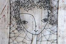 Wire art... / by Marisete Fachini Girardello
