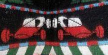 2015 - Our own collection of Vintage woolen Blankets / Colorful old blankets from the 50s / 60s and 70s - kleurrijke oude dekens uit de jaren '50 / '60 en '70 - Красочные одеяла из 50-х / 60-х и 70-х годов