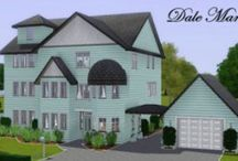 The Sims 3 Inspiration / Full of house plans, room ideas, clothing and hair.