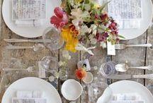 DECORACIÓN DE MESAS / Cómo decorar una mesa