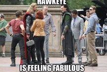 Avengers cast / Robert Downey Jr. / Chris Hemsworth / Mark Ruffalo / Chris Evans / Scarlett Johansson / Jeremy Renner / Tom Hiddleston / Aaron Taylor-Johnson / Elizabeth Olsen / Samuel L. Jackson ...