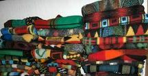 Unser Wolldecken-Lager - our blankets storage rooms