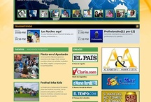 Custom Websites-La Poderosa-Cadena Azul  / Custom Websites :La Poderosa-Cadena Azul with multiple interactive tools and personalized design.