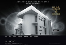Custom Websites-INSKIN  / The website of INSKIN is very functional and informational with all information about many programs  of treatments of skin care .Also this website  have a link to his YouTube Channel, in order to provide you with ample means of finding information and ask questions