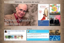 Custom Websites-Antonio Orlando Rodriguez Author / Cuban writer Antonio Orlando Rodriguez website contains various interactive options, such as: personalized searches, author photo gallery, multimedia with audio, video and album, author blog , Facebook, Twitter , RSS and other features