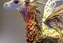 D&R: Dragon Inspiration / Everything dragon for the Dragonics & Runics Series of new adult fantasy novels.