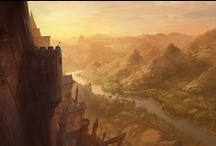 Castles / Real and Fantasy castles for imagining.  / by Anthony Udall