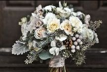 WINTER WEDDINGS / Chic, whites and silvers with lots of candle light and twigs